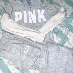 PINK Victoria's Secret matching track suit